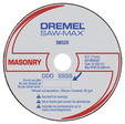 Dremel SM520C 3In Masonry Cut-Off Wheel